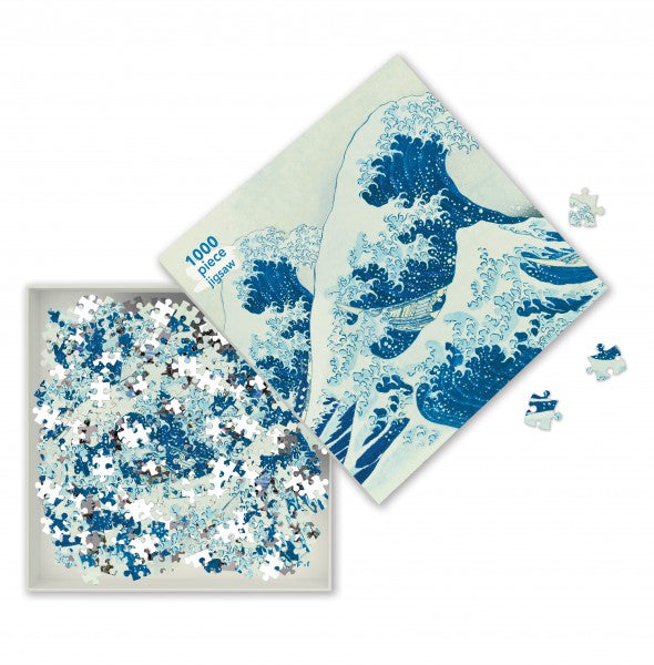 The Great Wave, Hokusai - 1000 Piece Puzzle