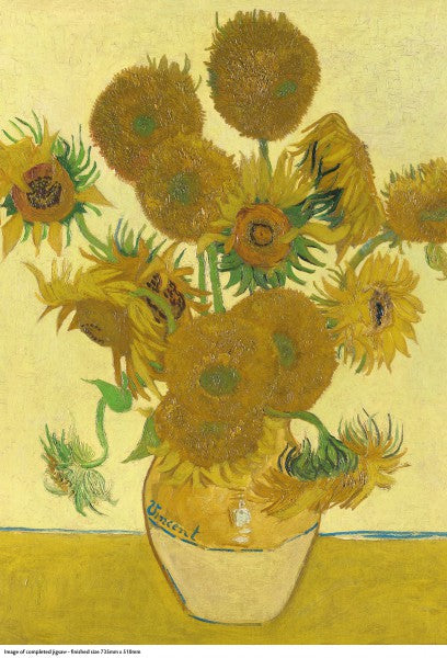 Sunflowers, Vincent Van Gogh - 1000 Piece Puzzle