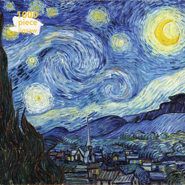Starry Night, Vincent Van Gogh - 1000 Piece Jigsaw