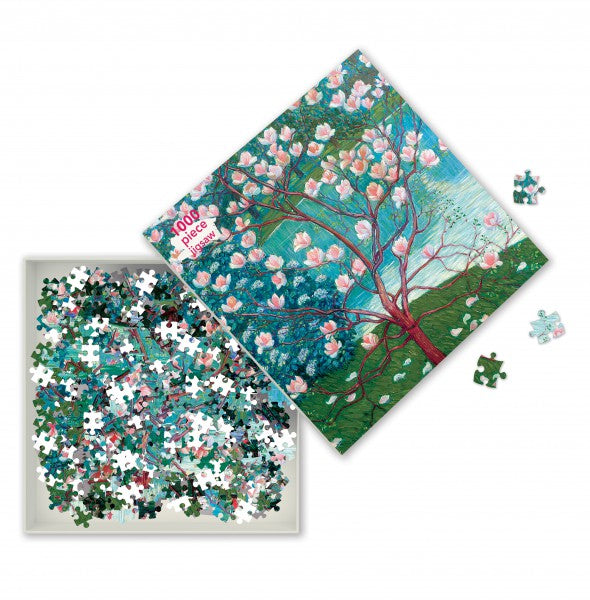 Magnolia Tree, Wilhelm List 1000 Piece Puzzle