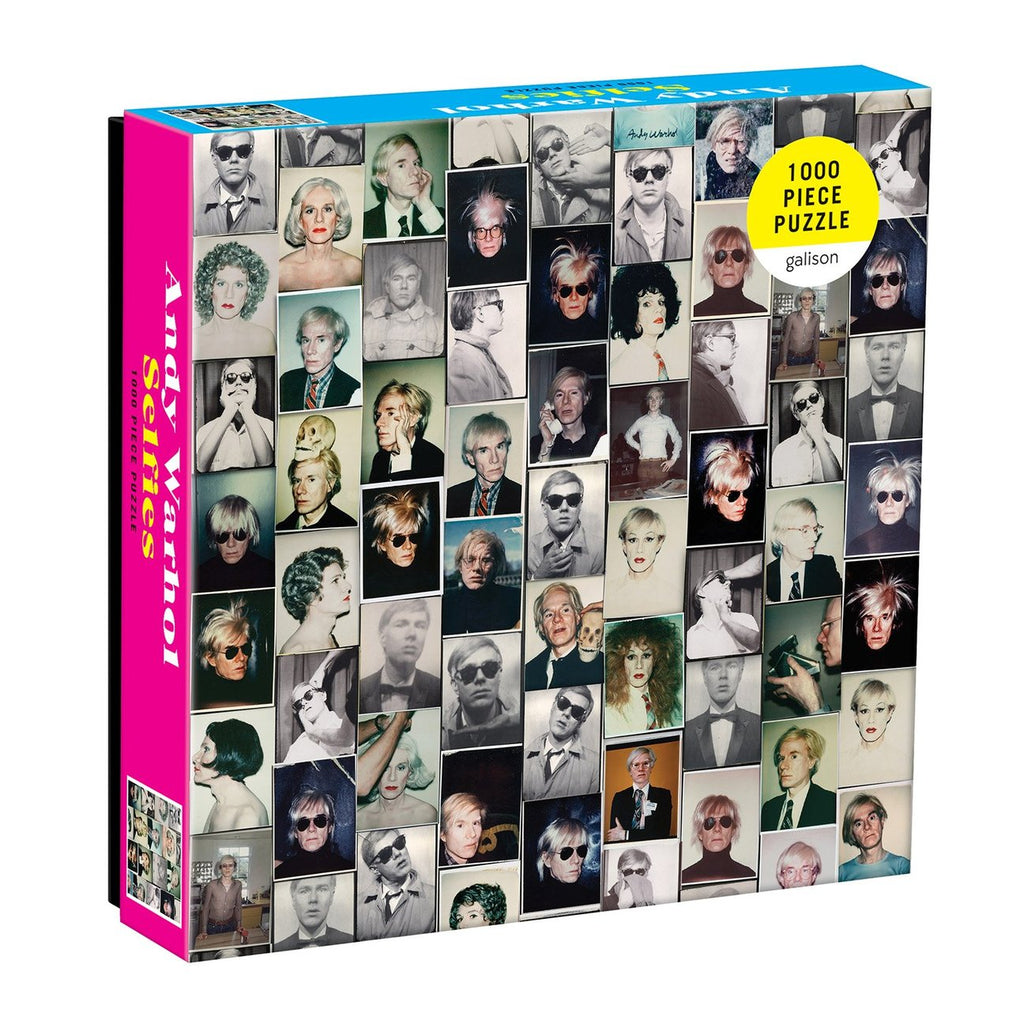 Andy Warhol Selfies - 1000 Piece Puzzle