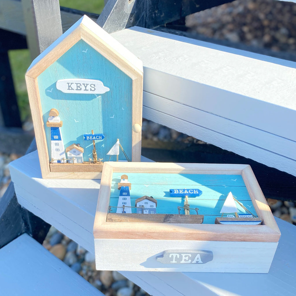 Seashore Beach House Key Box