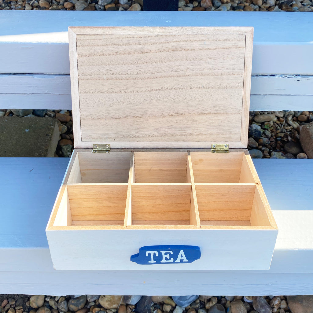 Seashore Beach House Tea Box