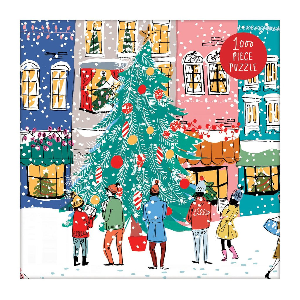 Christmas Carolers 1000 Piece Galison Puzzle