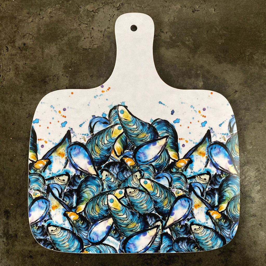Mussels Large Chopping Board