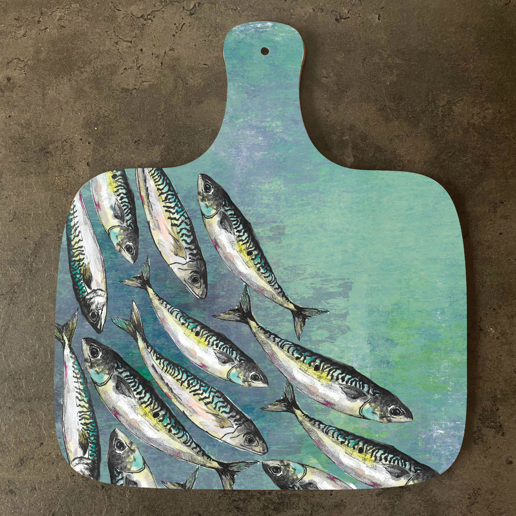 Mackerel Shoal Large Chopping Board
