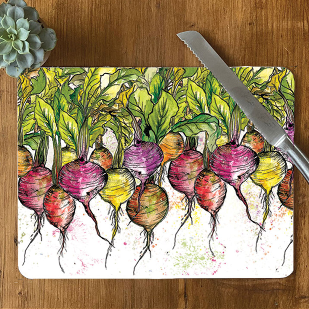 Radish Central Table Mat