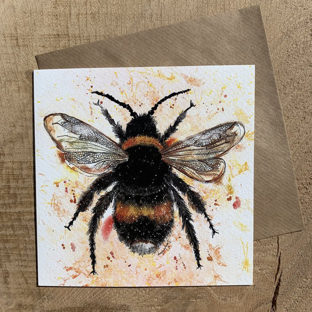 Greeting Card Bee