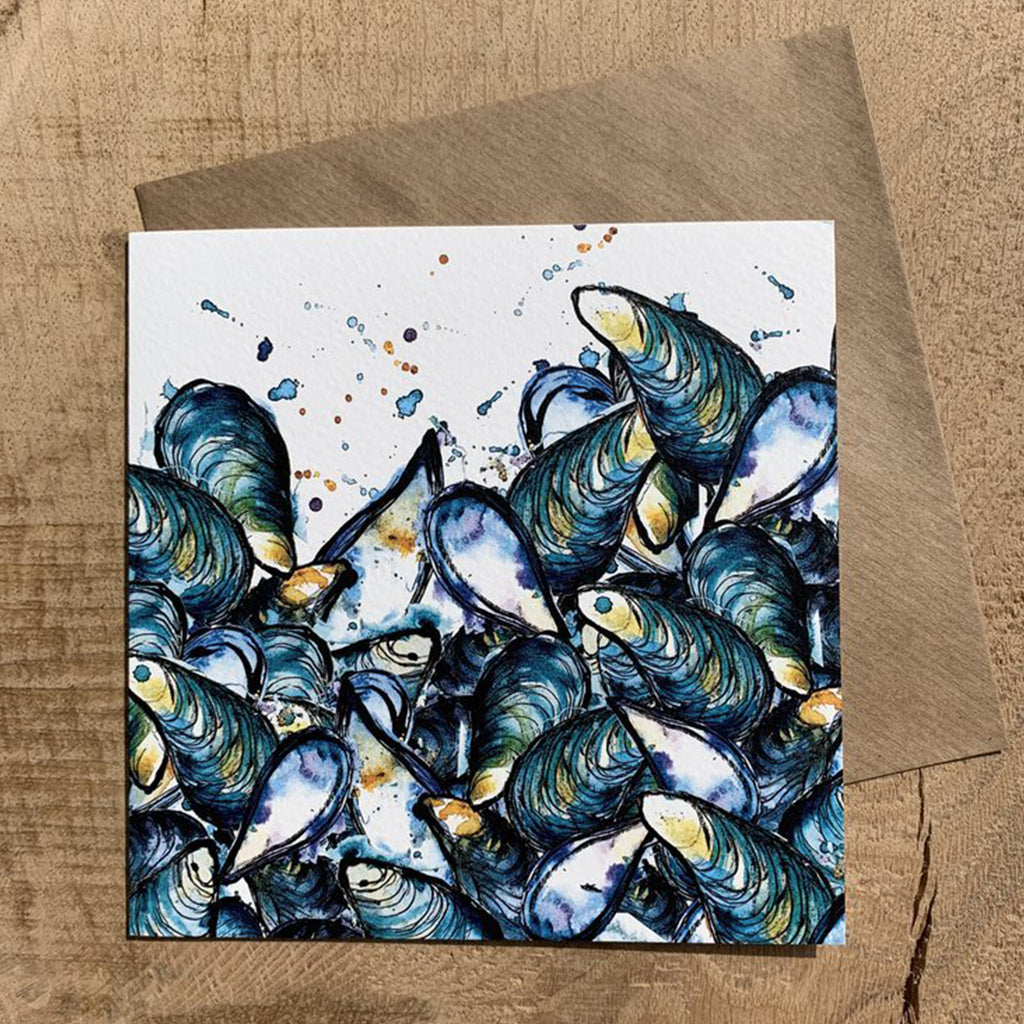 Greeting Card Mussels