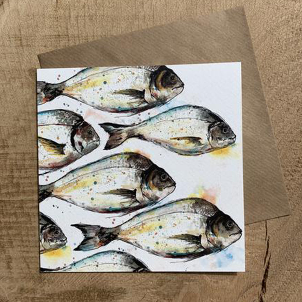Greeting Card Sea Bream