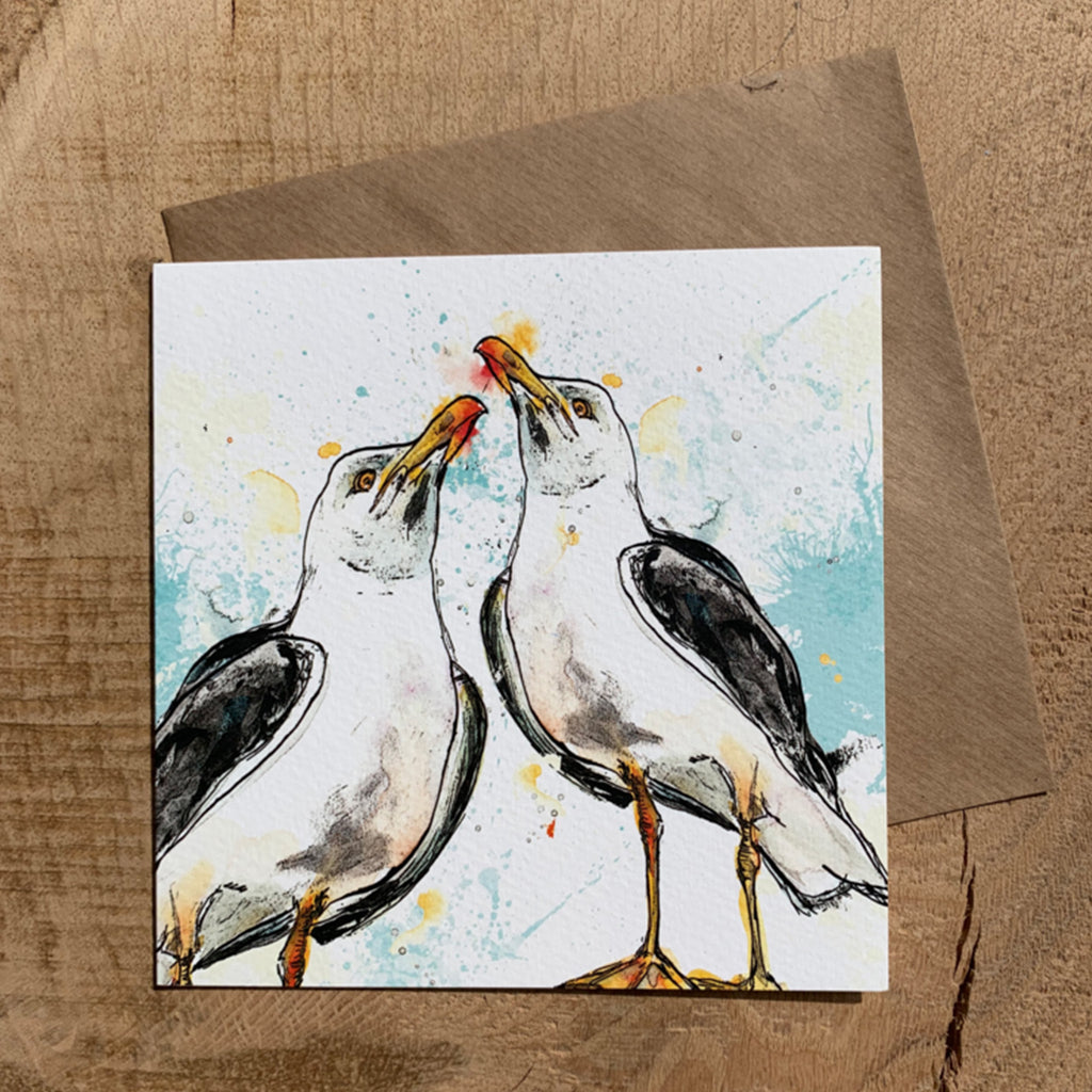 Greeting Card Seagull