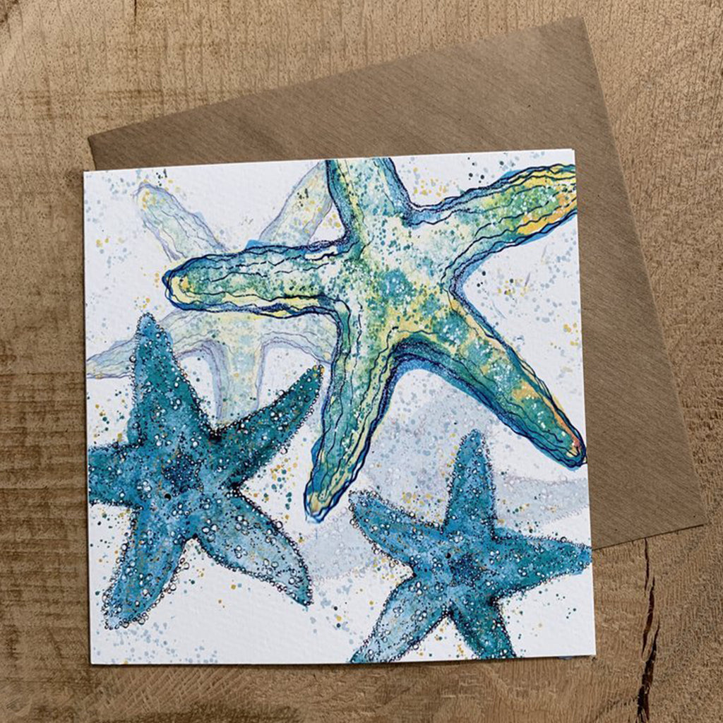 Greeting Card Starfish