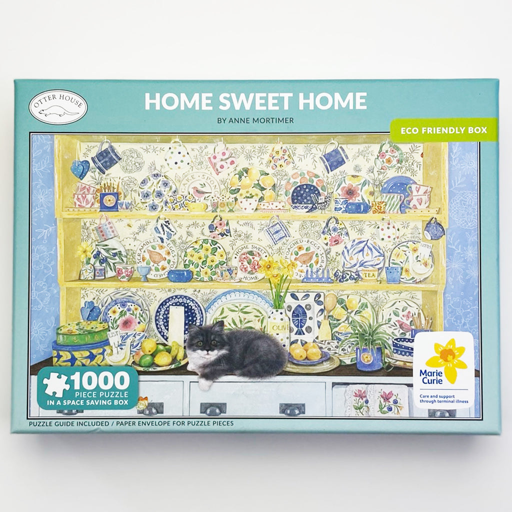 Marie Curie Home Sweet Home 1000 Piece Puzzle
