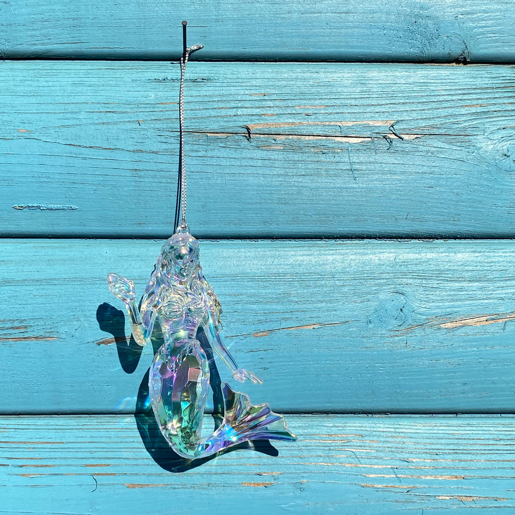 Iridescent Mermaid Decoration