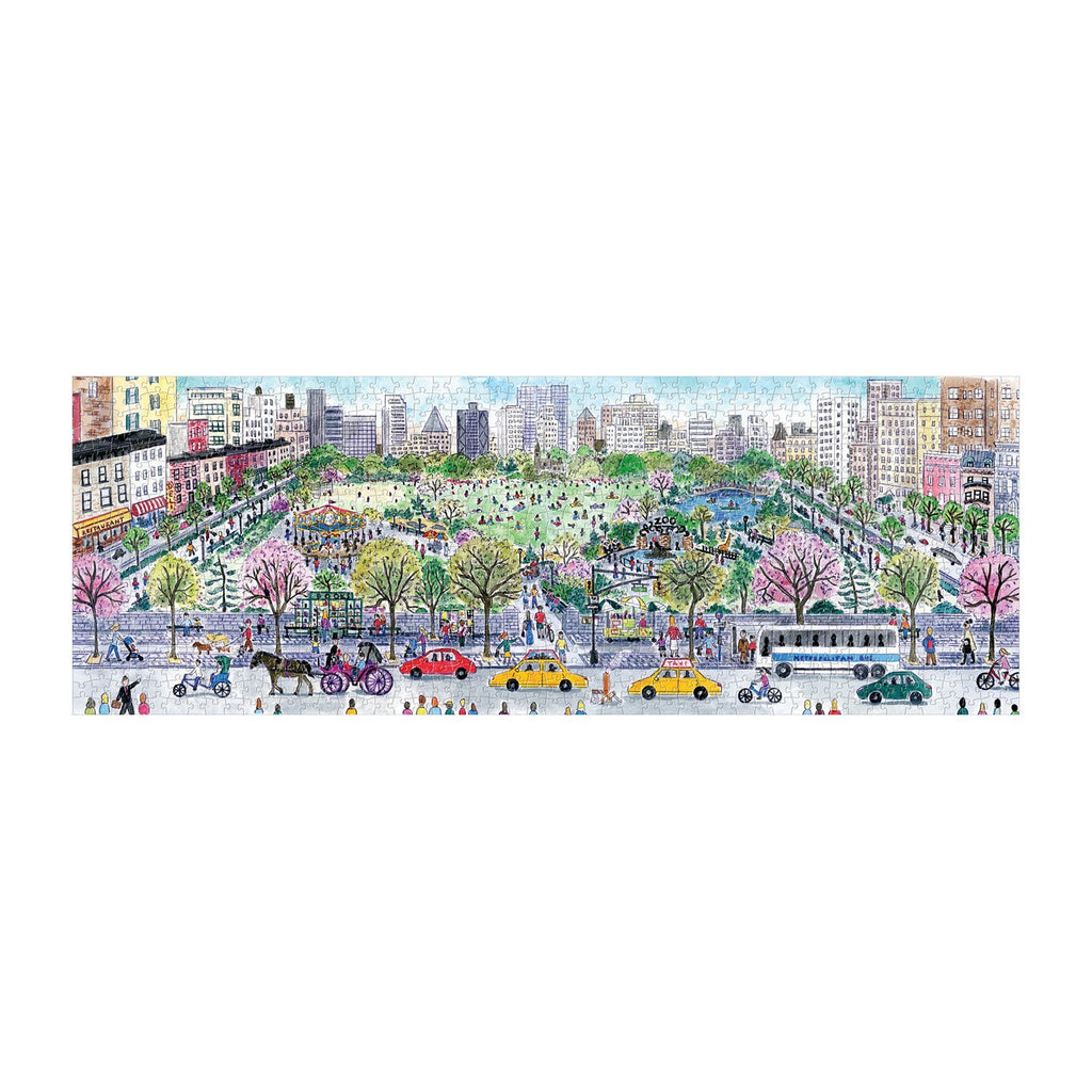 Michael Storrings Cityscape Panoramic 1000 Piece Puzzle