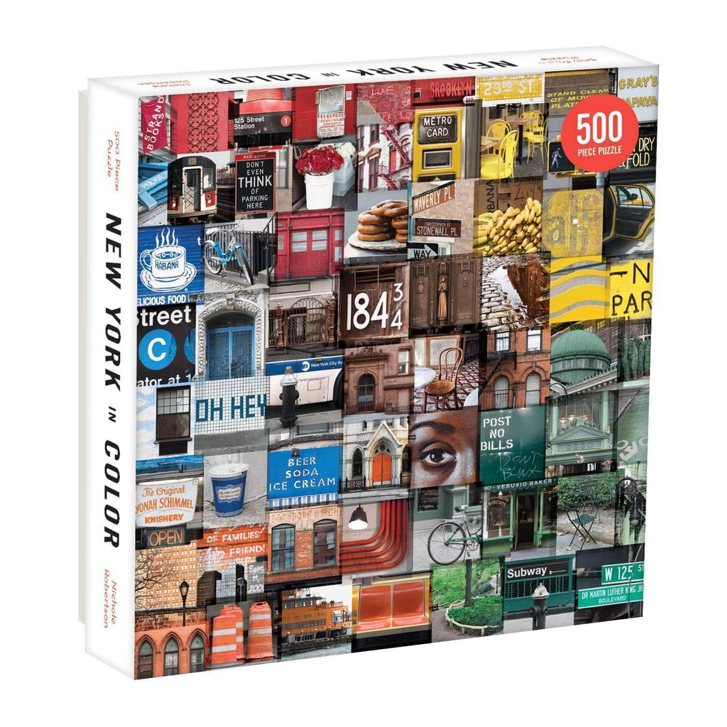 New York In Colour - 500 Piece Puzzle