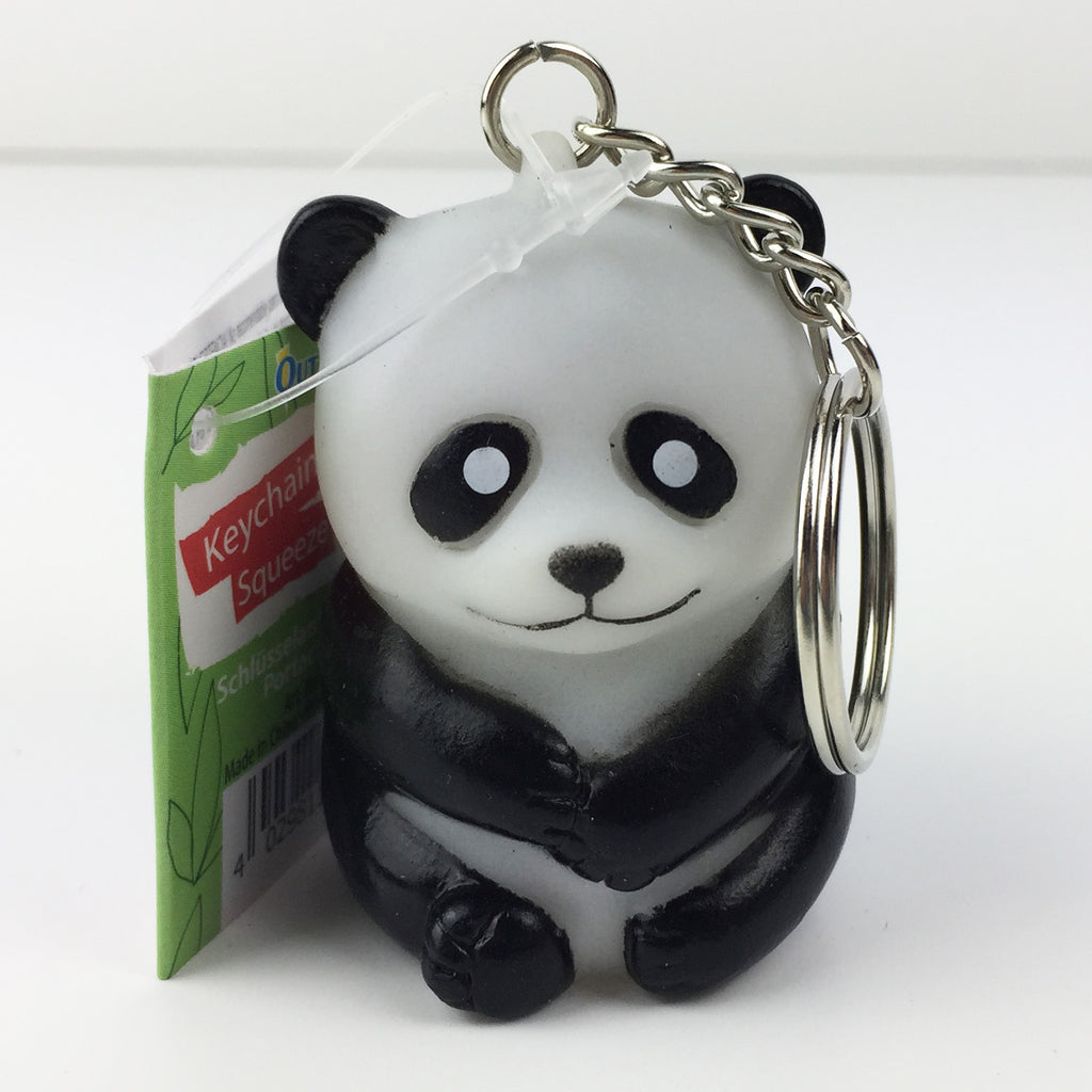 Pooping Panda Key Chain
