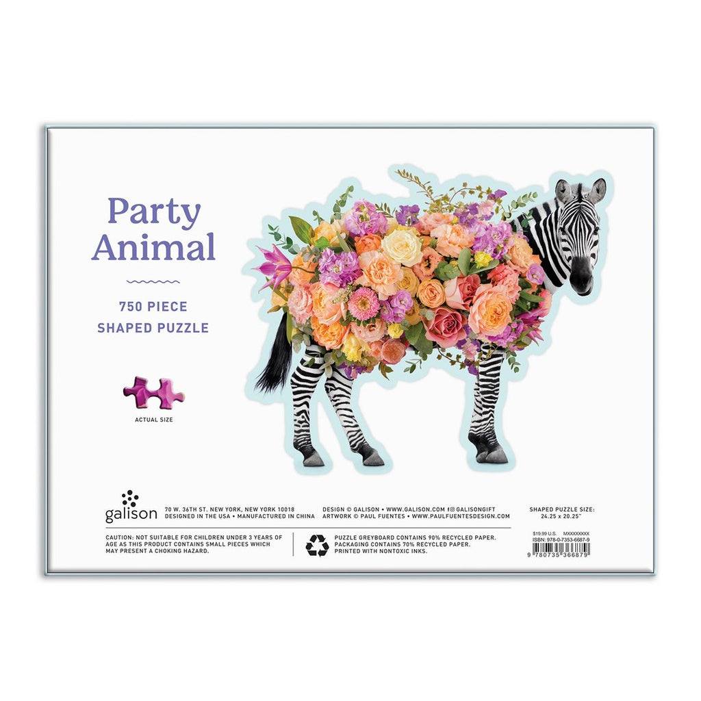 Party Animal - 750 Piece Shaped Puzzle