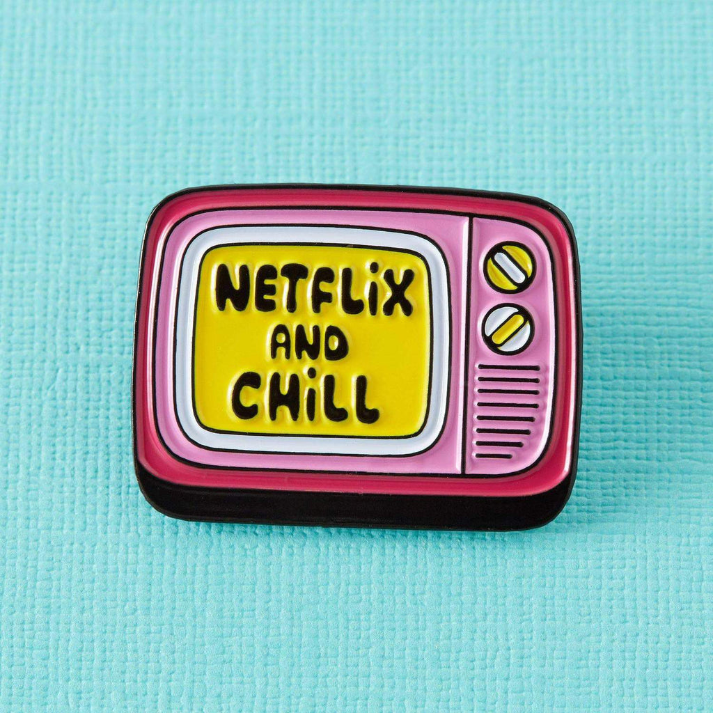 Netflix & Chill Enamel Pin
