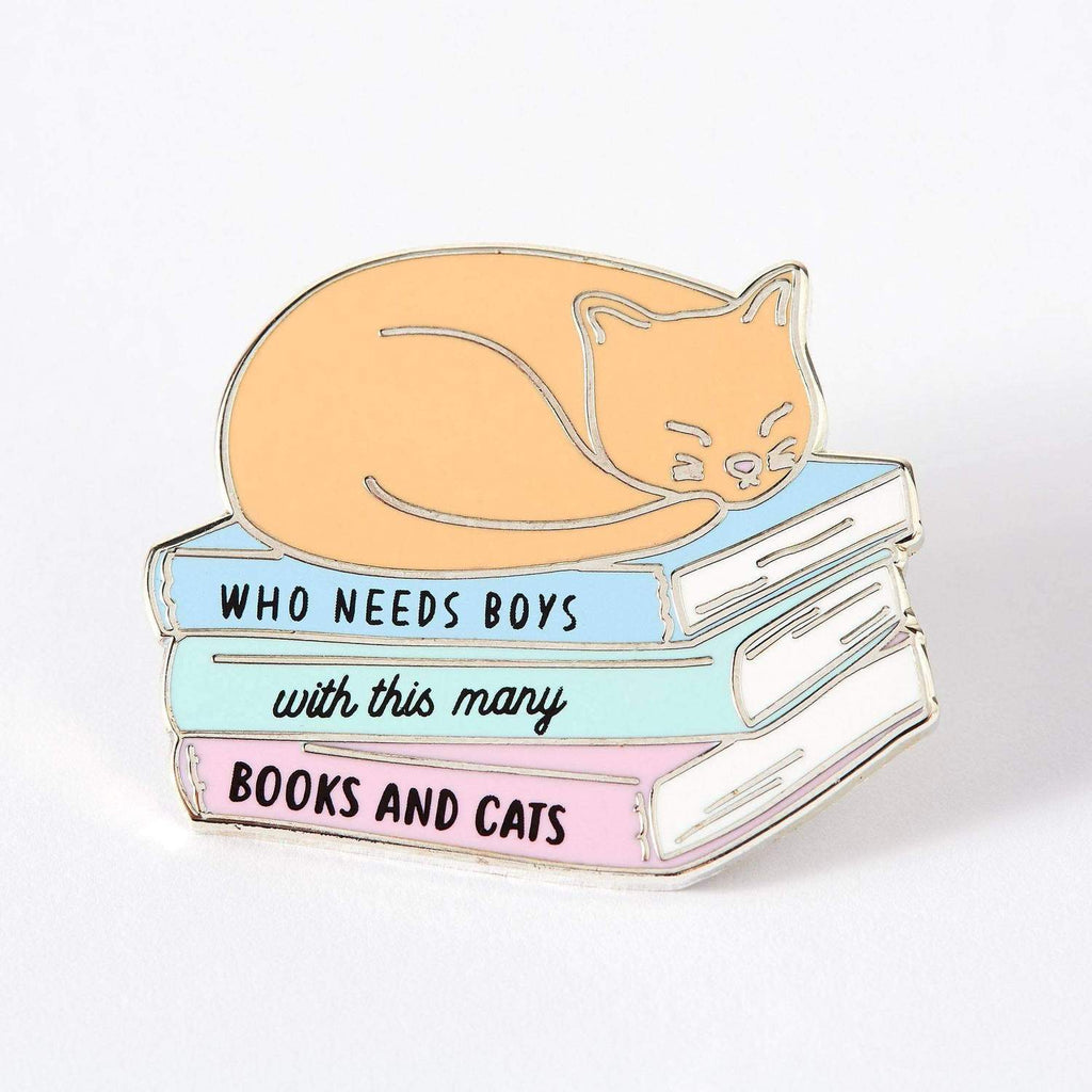 Who Needs Boys With Books & Cats