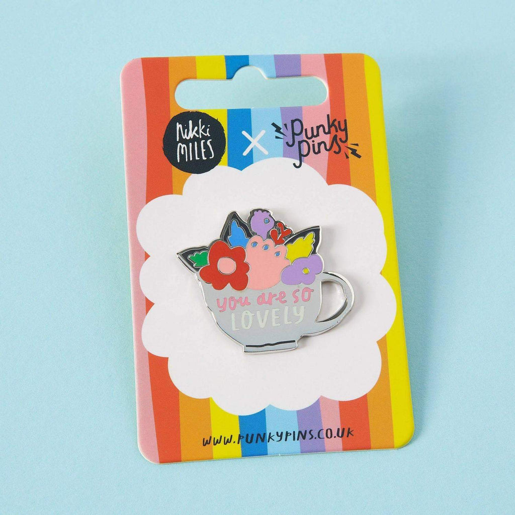 You Are So Lovely Enamel Pin