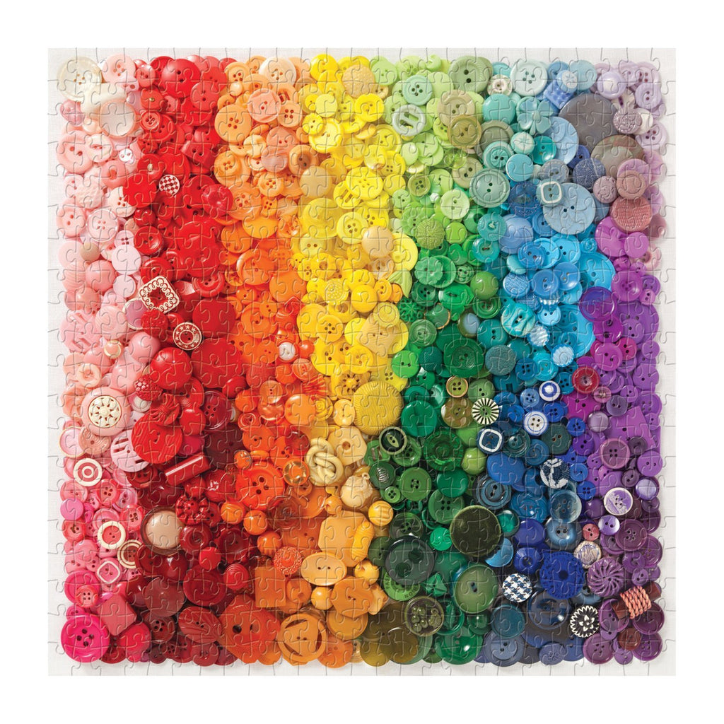 Rainbow Buttons - 500 Piece Puzzle
