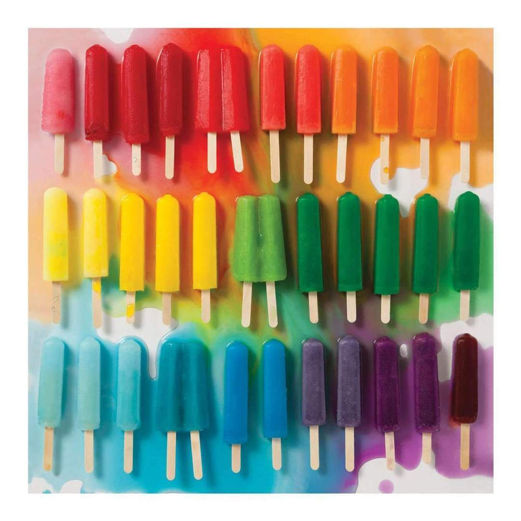 Rainbow Popsicles - 500 Piece Puzzle