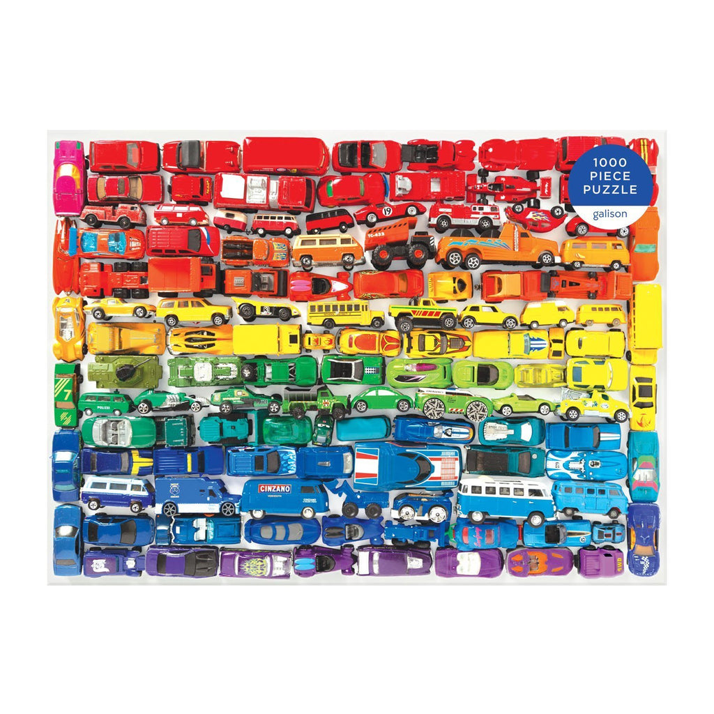 Rainbow Toy Cars - 1000 Piece Puzzle
