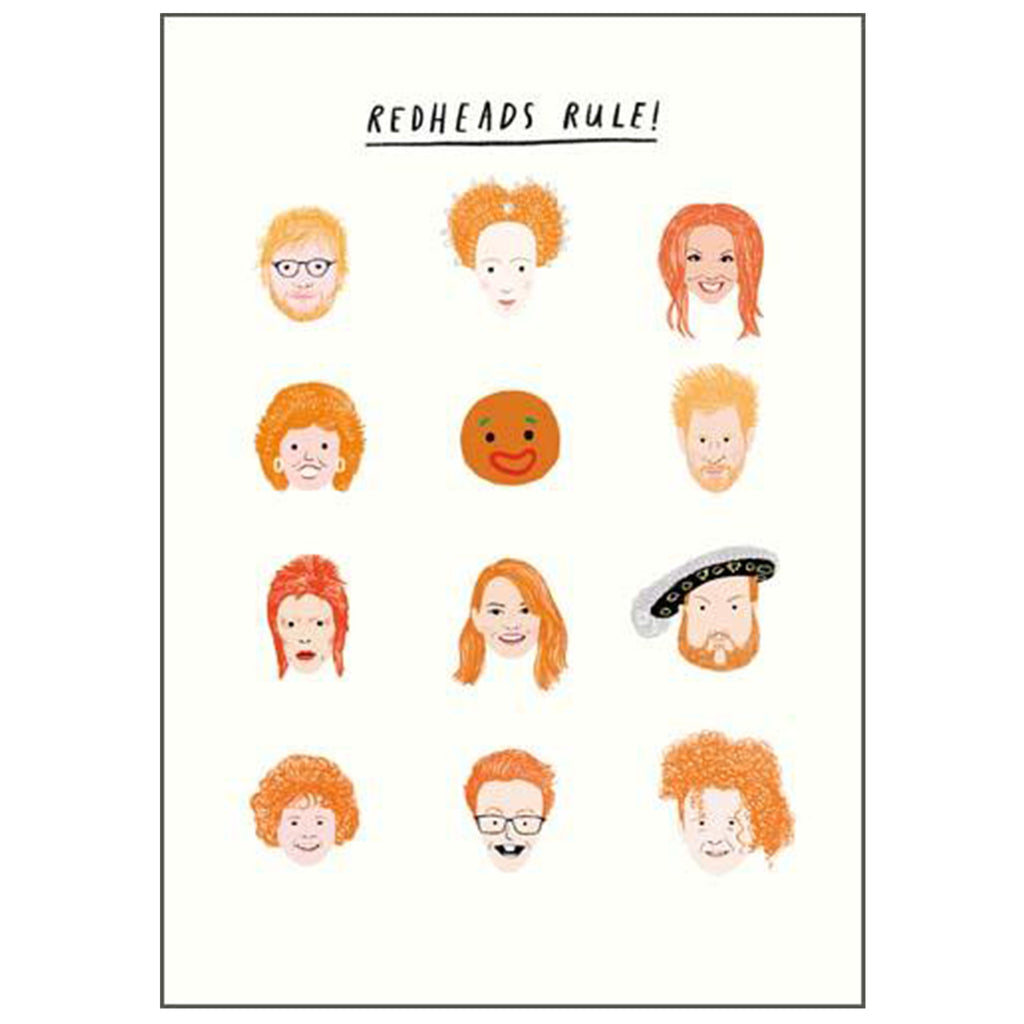 20th century Icons - Redheads Rule