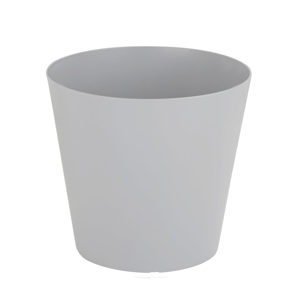 Studio 26cm Round Planter Cover Waste Bin Cool Grey