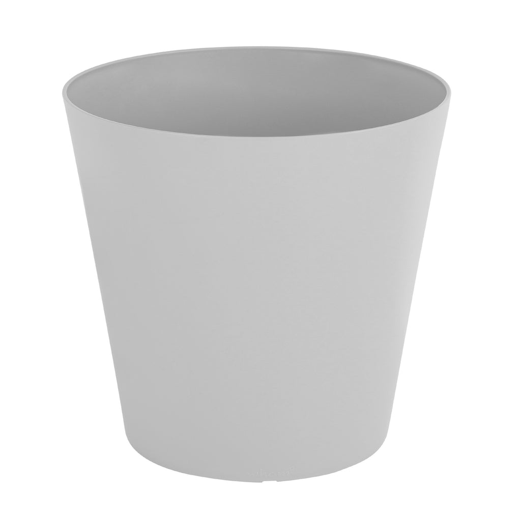 Studio 30cm Round Planter Cover Waste Bin Grey