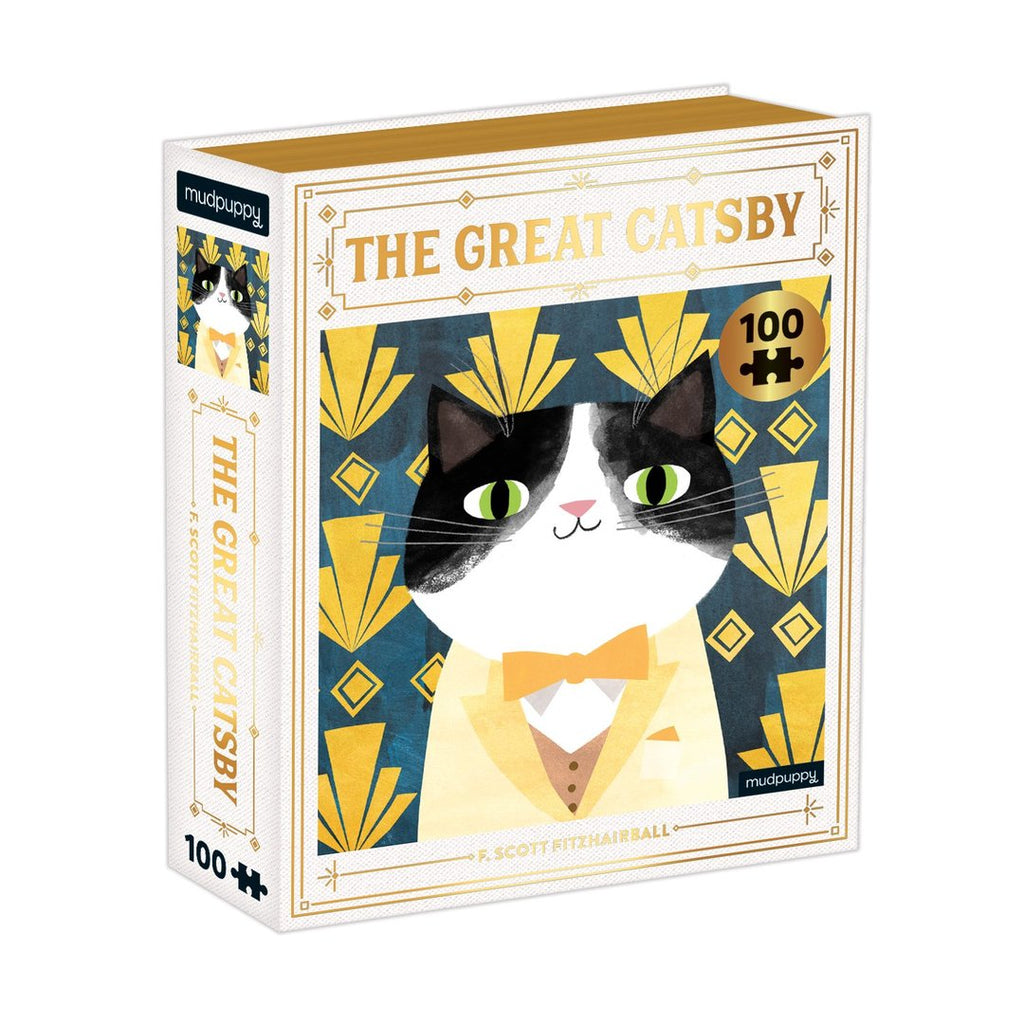 The Great Catsby - 100 Piece Mudpuppy Puzzle
