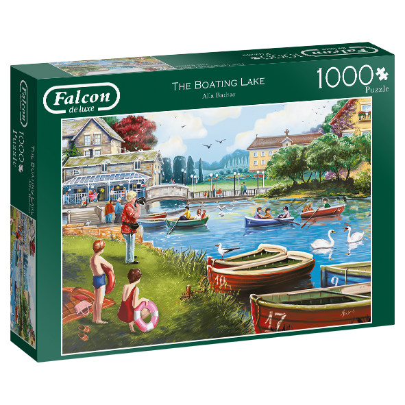 The Boating Lake - 1000 Piece Puzzle