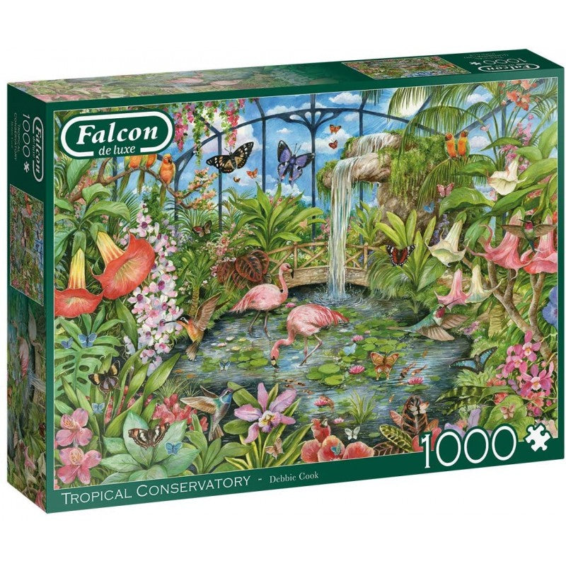 Tropical Conservatory - 1000 Piece Puzzle