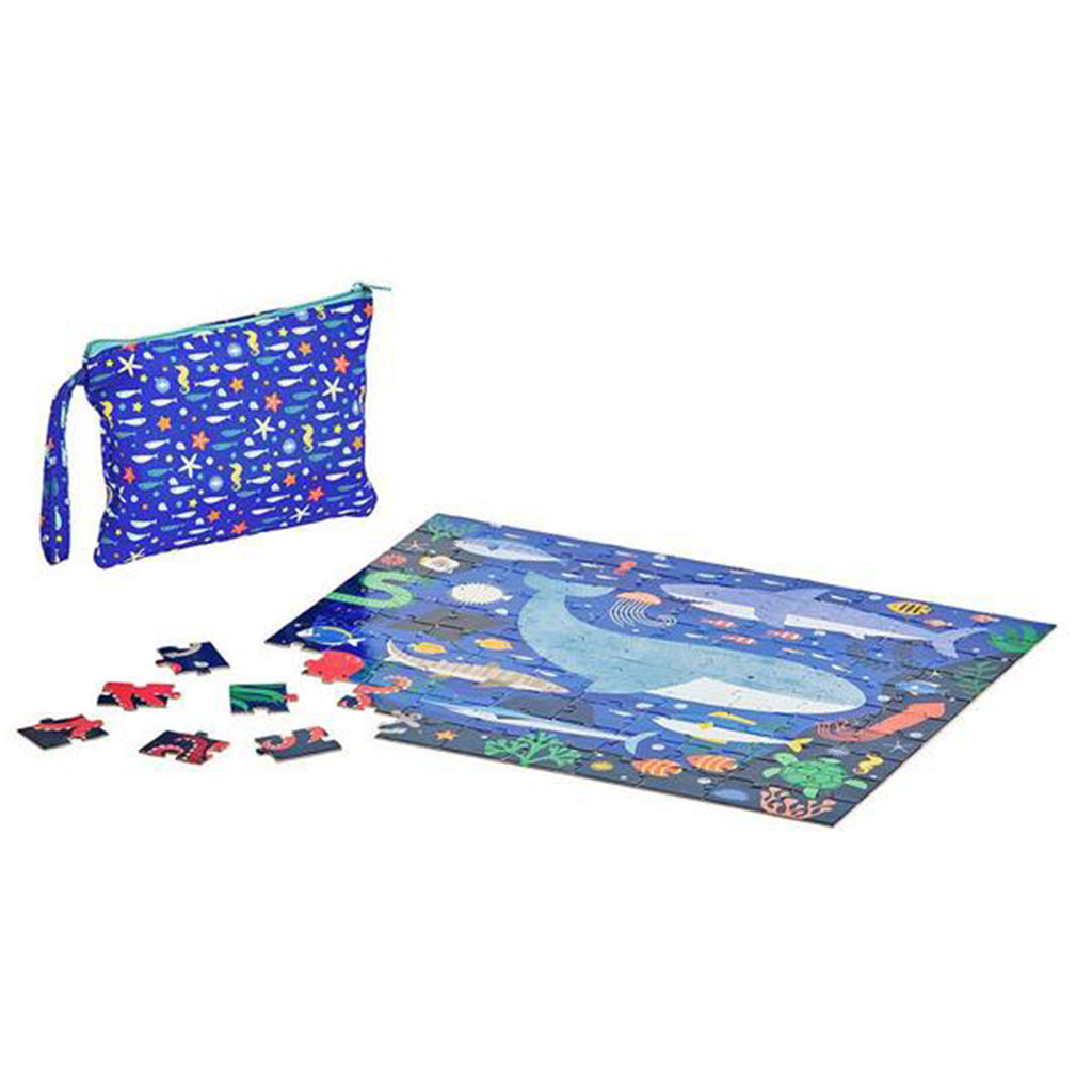 Under The Sea Two Sided 100 Piece Travel Puzzle