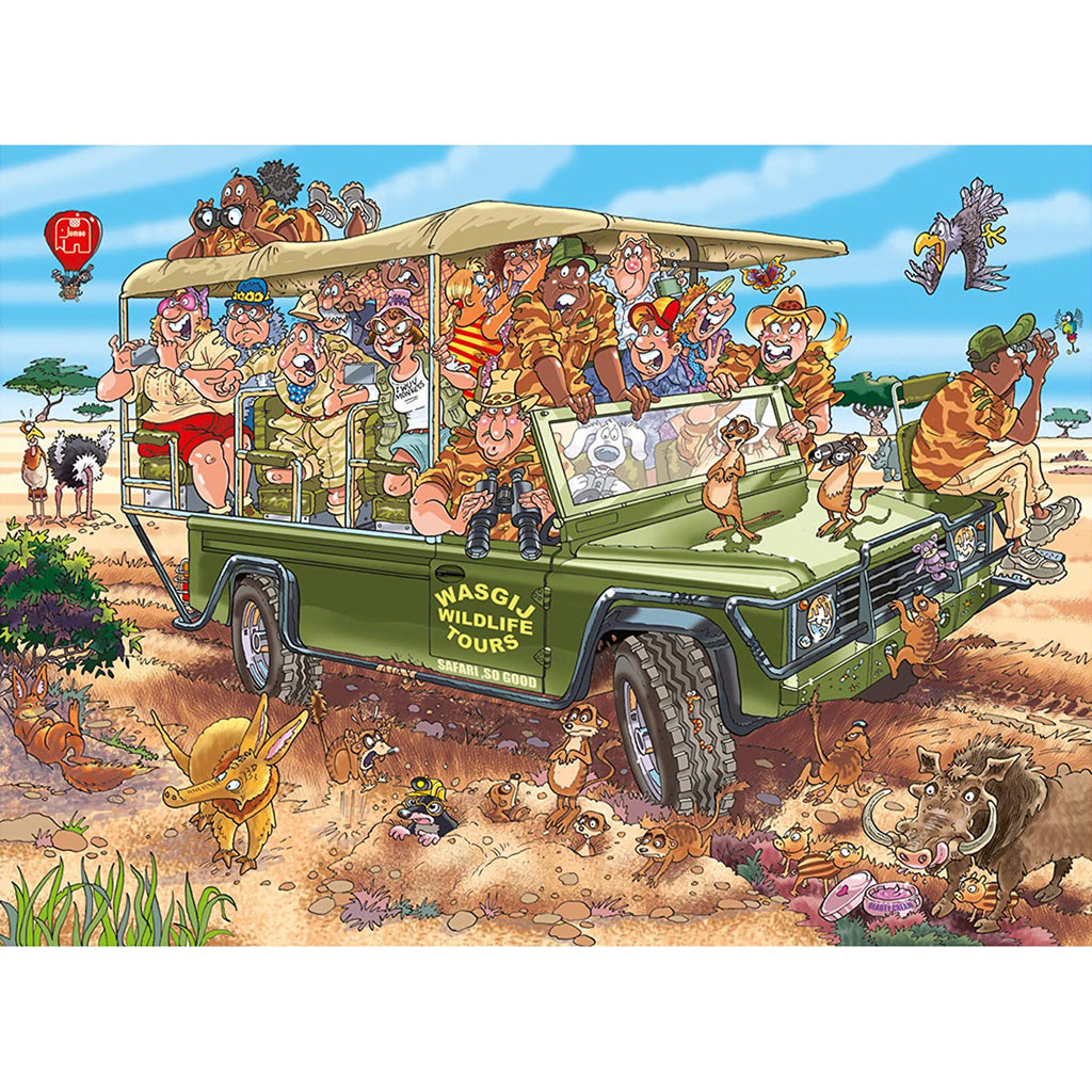 Original 31 Safari Surprise Wasgij Puzzle