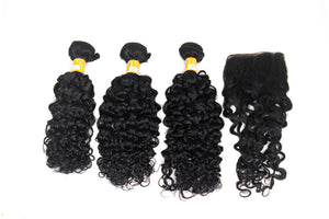 "3 Pack Peruvian Water Wave Hair 10""-20"""