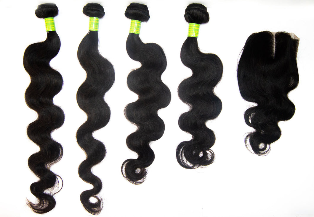 4 Pack Brazilian hair 12A-165