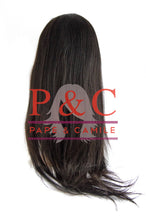 Load image into Gallery viewer, 1B Straight Brazilian Wig with Closure