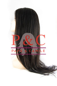 1B Straight Brazilian Wig with Closure