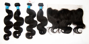 4 Pack European Hair 12A+ 12-18