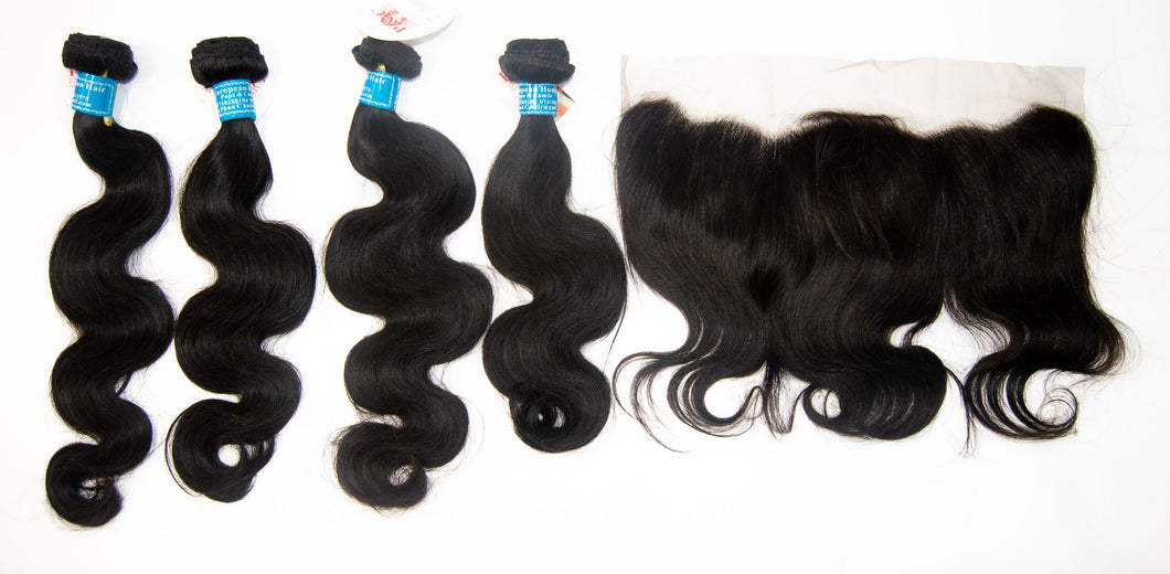 4 Pack European Hair 12A 22-28