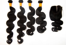 Load image into Gallery viewer, 4 Pack Peruvian Hair 12A 22-30