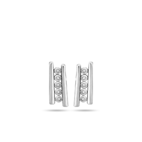 North South Earrings