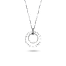 Load image into Gallery viewer, Double Ring Pendant