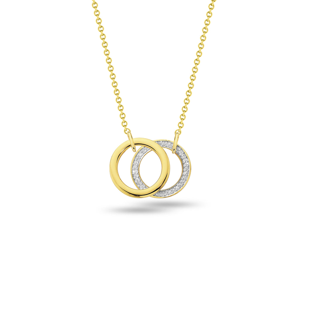 Intertwined Rings Pendant