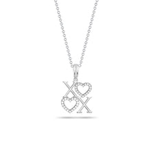 Load image into Gallery viewer, X's & Hearts Pendant