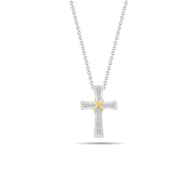 Load image into Gallery viewer, Wrapped Cross Pendant