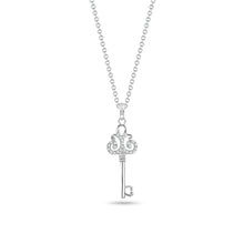 Load image into Gallery viewer, Skeleton Key Pendant