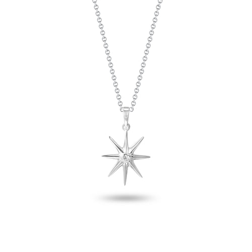 8-Point Star Pendant